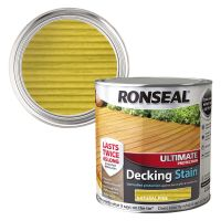 Ronseal Ultimate Decking Stain Natural Pine 2.5ltr