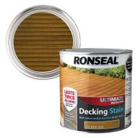 Ronseal Ultimate Decking Stain Country Oak 2.5ltr