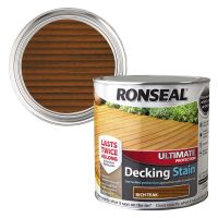 Ronseal Ultimate Decking Stain Rich Teak 2.5ltr