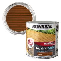 Ronseal Ultimate Decking Stain Cedar 2.5ltr