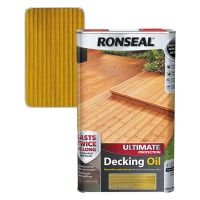 Ronseal Ultimate Decking Oil Natural Pine 5ltr