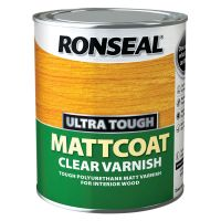 Ronseal Mattcoat Varnish Clear 750ml