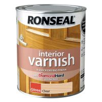 Ronseal Interior Varnish Clear Gloss 2.5ltr