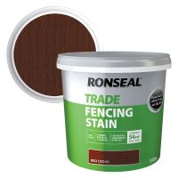 Ronseal Fence Stain Red Cedar 9ltr