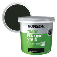 Ronseal Fence Stain Forest Green 9ltr