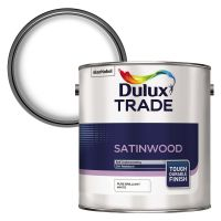 Dulux Trade Satinwood Brilliant White 2.5ltr