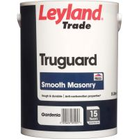 Leyland Trade Truguard Smooth Masonry Paint Gardenia 5ltr