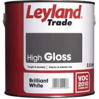 Leyland Trade High Gloss Colour Mixing Base 2.5ltr