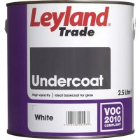 Leyland Trade Undercoat Colour Mixing Base 2.5ltr