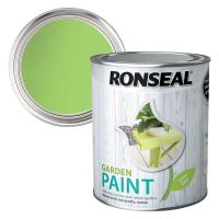 Ronseal Garden Paint Lime Zest 750ml
