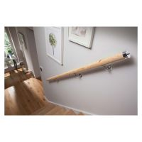 Pine Wall Mounted Handrail 3.6m PEFC