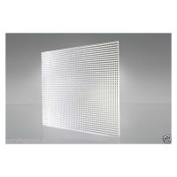 SLP Clear Styrene Prismatic 2.5 x 1200 x 595mm