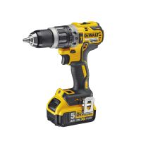 DeWalt 18V XR Brushless Combi Drill With 1 x 5Ah Battery