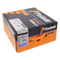 Paslode IM360 Nail Fuel Pack - 90mm x 3.1mm RG Galv Plus (Qty 2200 & 2 Fuel Cells)