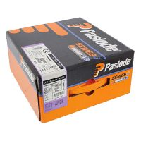 Paslode IM360 Nail Fuel Pack - 63mm x 3.1mm ST Galv Plus (Qty 2200 & 2 Fuel Cells)
