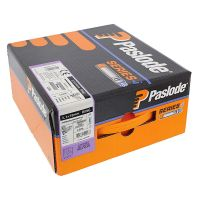Paslode IM360 Nail Fuel Pack - 75mm x 3.1mm ST Galv Plus (Qty 2200 & 2 Fuel Cells)