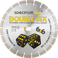 Trade Double Six General Purpose 115mm Diamond Blade