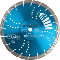 Ultimate Universal ZX15 230mm Diamond Blade