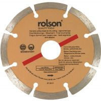 Rolson Diamond Cutting Disc 115mm