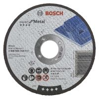 Flat Metal Cutting Disc 115 x 22mm Bore