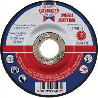 Metal Cut Off Disc 115 x 3.2 x 22mm