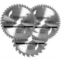 TCT Circular Saw Blades 210mm Pack 3