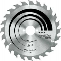Circular Saw Blade 20 x 160mm 24 Teeth