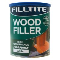 Filltite 2 Part White Wood Filler 1kg