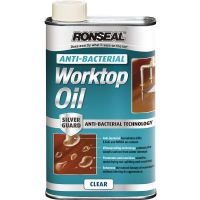 Ronseal Anti Bacterial Worktop Oil Clear 500ml