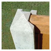Supreme Slotted Concrete Post Corner