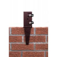 Metpost 75mm Wall Anchor Post Support