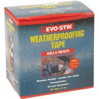 Evo-Stik Weatherproof Tape 4m x 75mm