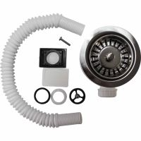 Leisure Strainer Waste Kit for Single Bowl Kitchen Sinks