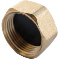 Copper Compression Blanking Nut ¾""