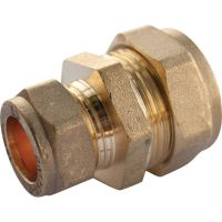 Copper Compression Straight Reducer 15mm x 12mm