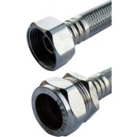 "Flexible Tap Connector 15mm x ½"" x 900mm (9.5mm Bore)"