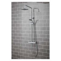 Sphere Thermostatic Bar Shower Mixer with Rigid Riser