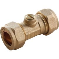 Brass Isolator Valve 15mm