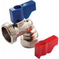 Bent Washing Machine Valve 15mm x ¾""
