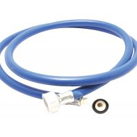 Blue Washing Machine Hose