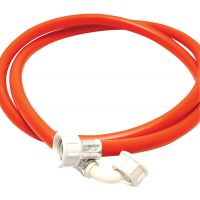 PVC Washing Machine Hose Red 2.5m