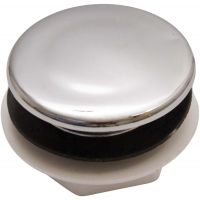 Chrome Sink Tap Hole Stopper
