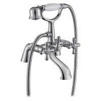 Comap Mercia Traditional Bath Shower Mixer Tap with Kit