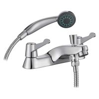 Comap Araya QT Lever Bath Shower Mixer Tap with Kit