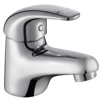 Comap Haze Mono Basin Mixer Tap with Clicker Waste