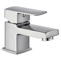 Comap Manta Mini Mono Basin Mixer Tap with Clicker Waste