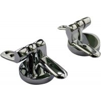 Chrome Toilet Seat Hinges for Wooden Seat