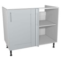 Verona Grey 1000mm Corner Base Unit