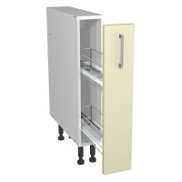 Verona Cream 150mm Pull Out Base Unit with Wirework