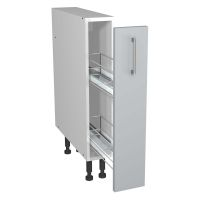 Verona Grey 150mm Pull Out Base Unit With Wirework